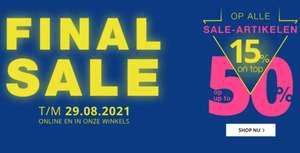 Final sale + 15% extra korting met code @ Peek & Cloppenburg