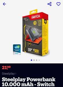 Steelplay Powerbank 10.000 mAh- Nintendo Switch