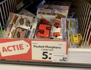 2 Pocket Morphers voor 5 euro @ Intertoys winkels