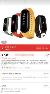 Xiaomi Mi-band 5 (deze prijs alleen in de Banggood app)