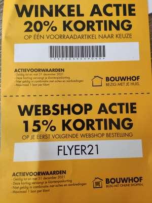 Bouwhof korting online en in de winkel