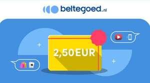 €2,50 korting op alles bij Beltegoed.nl (PSN/Google Play/Netflix etc.)