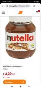 Nutella 900 gram @Colruyt