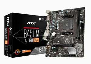MSI B450M-A PRO MAX (AM4)