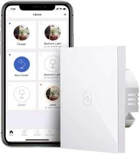 Meross slimme lichtschakelaar (Alexa, Google, IFTTT) voor €9 @ Amazon.nl
