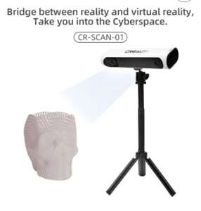 Creality CR-Scan01 portable 3d scanner auto registration