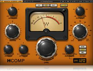 Waves H-Comp Hybrid Compressor audio plugin gratis