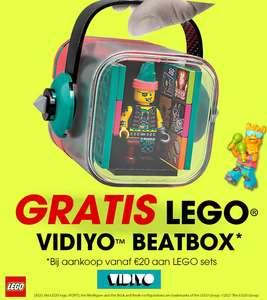 Gratis LEGO Vidiyo Beatbox bij aankoop van €20 aan LEGO sets