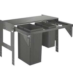 [Prijsfout?] GROHE Inbouw prullenbak - 2 afvalbakken (1x29L en 1x11L)