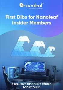 Nanoleaf Shapes en Elements 15% korting