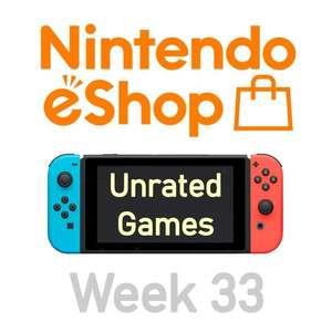Nintendo Switch eShop aanbiedingen 2021 week 33 (deel 2/2) games zonder Metacritic score