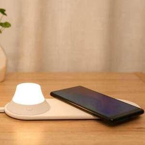 Yeelight draadloze mobiele oplader en nachtlamp voor €16,23 (verz. uit CZ) @ BangGood