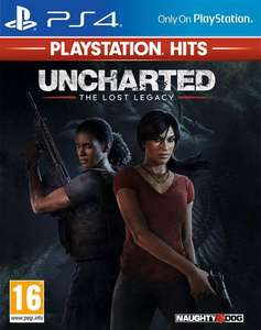 Diverse PlayStation Hits voor €9,99 (Uncharted: The Lost Legacy, God Of War)