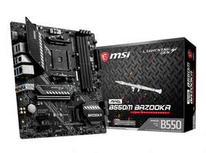 MSI mATX MB - AMD AM4 - MAG B550M BAZOOKA bij HWW