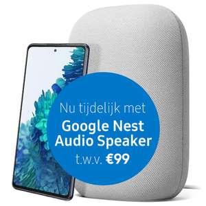 Samsung Galaxy S20 FE 4G (in combinatie met Tele2 abonnement) + Google Nest speaker