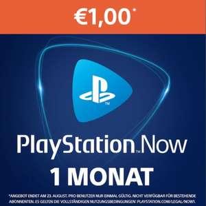 PlayStation Now: 1-maand-Abonnement voor 1€ (PSN Store)