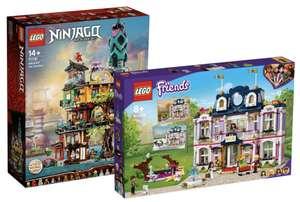 Intertoys - 25% korting op Lego 71741 - Ninjago Stadstuinen & Lego 41684 - Friends Heartlake City Grand Hotel