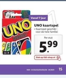 Uno kaartspel @Lidl winkel & online