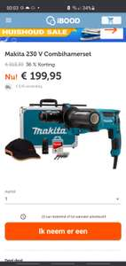 Makita 230 V Combihamerset HR2631FT13