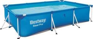 Bestway Steel Pro 300 x 201 x 66 cm - Opzetzwembad - Elders fors duurder!