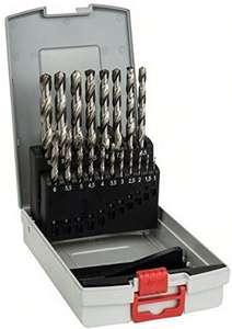 19 delige Bosch professional HSS-G metaalboren set