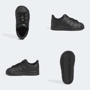 Superstar sneakers - leer [mt 19 t/m 22]