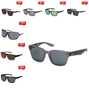 Nike zonnebrillen tot 78% korting - zoals Volano Sport nu €39,99 - elders €126,65