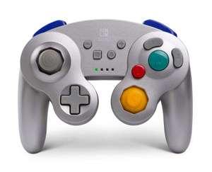 PowerA wireless controller voor Nintendo Switch - Zilverkleurig