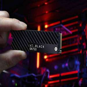 WD Black NVMe SSD SN750 2TB (met heatsink)