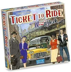 Ticket to ride New York bordspel @amazon.nl