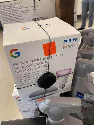 [Lokaal] Google Nest Mini en Philips Hue Color E27 lamp