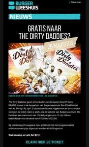 Gratis optreden Dirty Daddy's (Alleen vanavond)