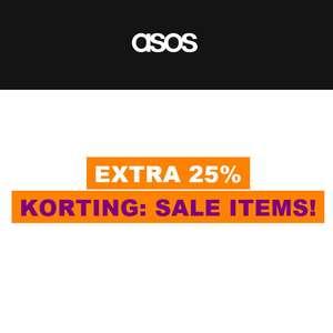 SALE tot 80+% + 25% extra korting [va €30 // £20] @ ASOS