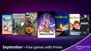 Amazon Prime Gaming - September 2021