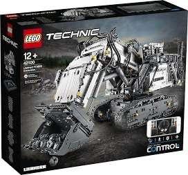 LEGO 42100 Technic Control+ Liebherr R 9800 Graafmachine