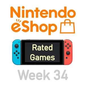Nintendo Switch eShop aanbiedingen 2021 week 34 (deel 1/2) games met Metacritic score