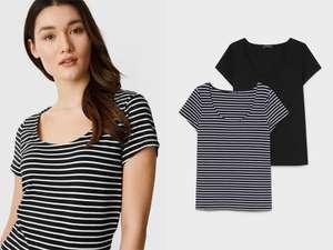 Set van 2 dames T-shirts -77% = €4,50 [was €17,99]