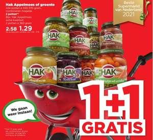 Hak Appelmoes of groente 1+1