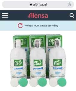 Opti-Free Puremoist via Alensa 8,84 euro per 300ml fles