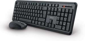 Trust Ymo Pack Keyboard and Mouse Wireless QWERTY Spanish (Warehouse)