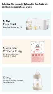 Welkomstgeschenk bij aanmaak babywenslijstje & aankoop babyproduct t.w.v. min. €20 @amazon.de