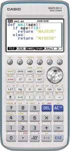 Casio rekenmachine Graph 90+E