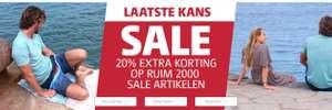 20% extra korting op een Sale product