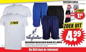 Australian Sportsokken Sneakersokken of Footies 3-pack 1,99 bij Dirk