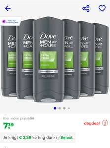 [Bol Select] 6 x Dove men+ Care 250 ml
