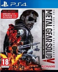 Metal Gear Solid V The Definitive Experience PS4 (psn store)