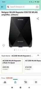 Netgear WLAN Repeater EX6130 WLAN amplifier
