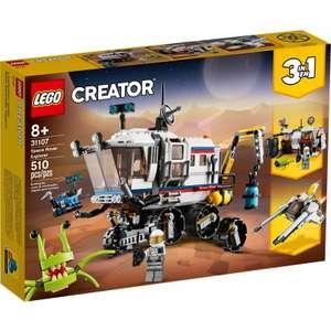 LEGO Creator 31107 3-in-1 Ruimte Rover Verkenner met 25% korting bij Kruidvat