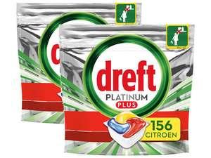 312 stuks Dreft Platinum Plus All-in-One vaatwascapsules voor €44,95 @ iBOOD