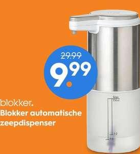 Blokker automatische zeepdispenser van €29,99 naar €9,99 @ Blokker